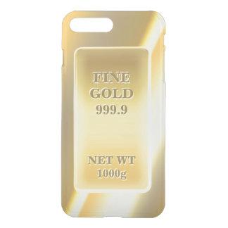 Shiny Fine Gold 999.9 Gold Brick Gold Bar iPhone 7 Plus Case