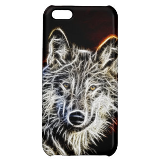 Shiny Fractalius Wolf iPhone 5C Cover