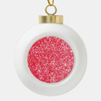 Shiny Glitter Sparkley Ceramic Ball Decoration