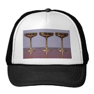 shiny goblets hats