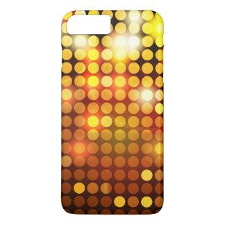 Shiny golden mosaic iPhone 7 plus case