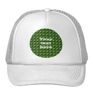 Shiny Green Trucker Hats