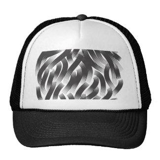 Shiny Hairs Mesh Hats