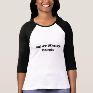 Shiny Happy People Ladies 3/4 Sleeve T-Shirt
