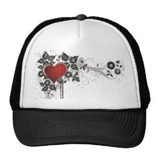Shiny Heart, Leaves & Flowers - Original Cap