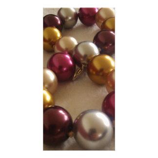 Shiny Jewellery, Necklace Photo Cards