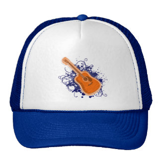 Shiny of splatter Guitar Trucker Hat