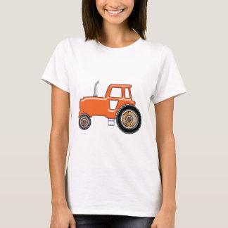 Shiny Orange Tractor T-Shirt