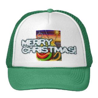 Shiny Ornaments Mesh Hat