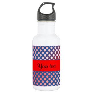 Shiny Patriotic Dots 532 Ml Water Bottle