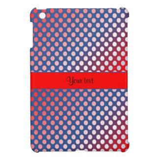 Shiny Patriotic Dots Case For The iPad Mini
