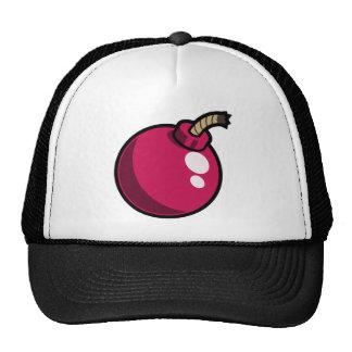Shiny Pink Cartoon Bomb. Makes a great gift! Cap