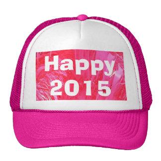 Shiny Pink Christmas Tree Trucker Hats