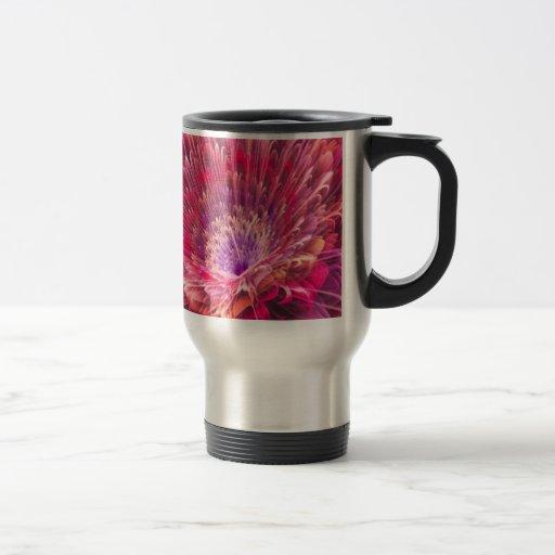 Shiny Pink Dahlia Coffee Mug