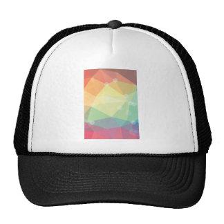 Shiny Rainbow Crystal Pattern Trucker Hat