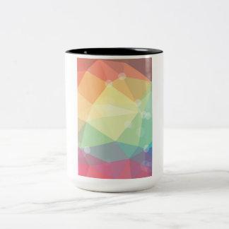 Shiny Rainbow Crystal Pattern Mugs