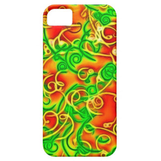 shiny red, green case for the iPhone 5