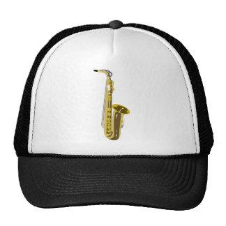 Shiny Saxophone Hat
