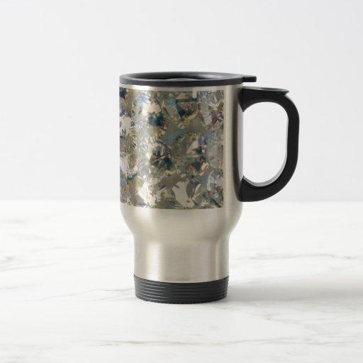 Shiny Swarovski Crystals Travel/Commuter Mug