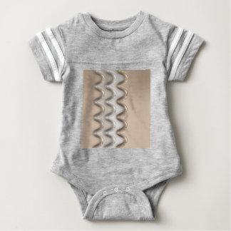 Shiny Waves Baby Bodysuit