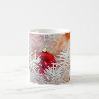 Shiny Wonderland Christmas Holiday Basic White Mug
