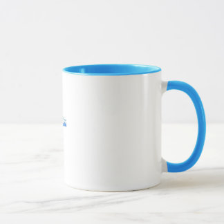 ShinySho pale blue ringer mug