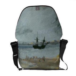 Ship Aground, Brighton, 1830 (black ink, w/c & bod Messenger Bags