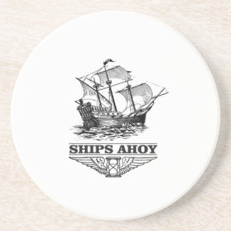 ship ahoy boat coaster