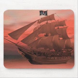 SHIP AHOY MOUSE PAD