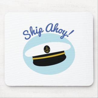 Ship Ahoy Mouse Pads