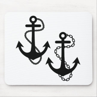 Ship Anchor Mouse Pad