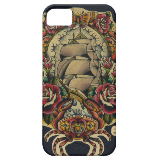 ship and crabs barely there iPhone 5 case