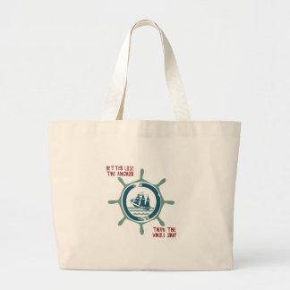 Ship And Wheel Tote Bag