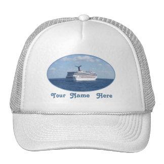 Ship at Sea Custom Cap