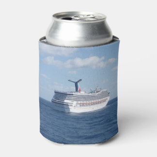 Ship at Sea Fun Can Cooler
