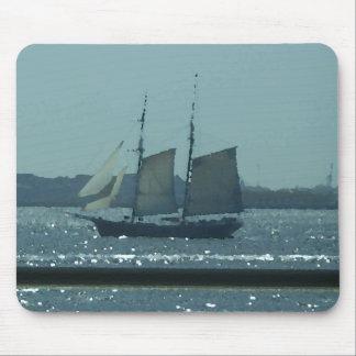 Ship Boat Sailing Vessel Art CricketDiane Mouse Pad