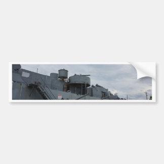 Ship Bumper Sticker