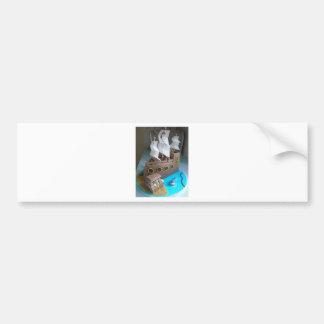 Ship cake 1 bumper sticker