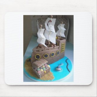 Ship cake 1 mouse pad