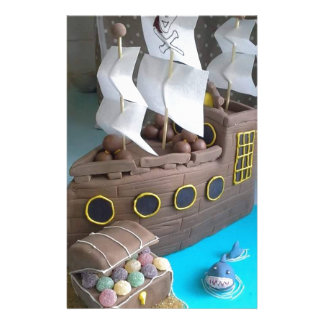Ship cake 1 stationery