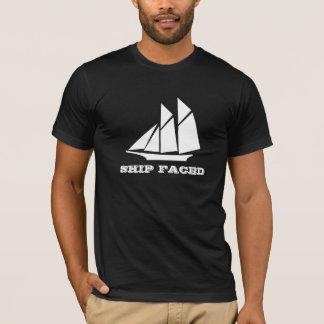 Ship Faced Family Reunion Sailing Boat Cruising T-Shirt