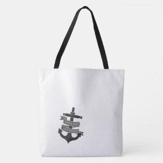 Ship Faced tote bag