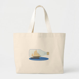 Ship in a Bottle Canvas Bags