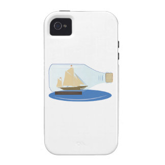 Ship in a Bottle Case For The iPhone 4
