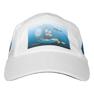 Ship in a light bulb hat