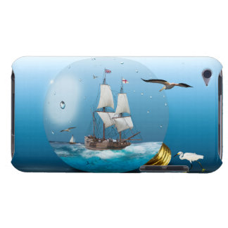 Ship in a light bulb iPod touch Case-Mate case