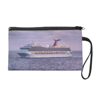 Ship in Purple Wristlet Clutches