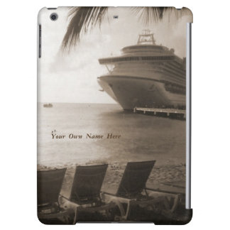 Ship in Sepia Personalized