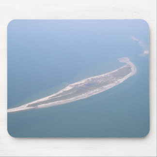Ship Island Aerial Photograph Mouse Pad