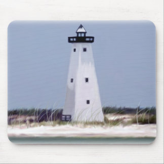 Ship Island lighthouse Mouse Pad